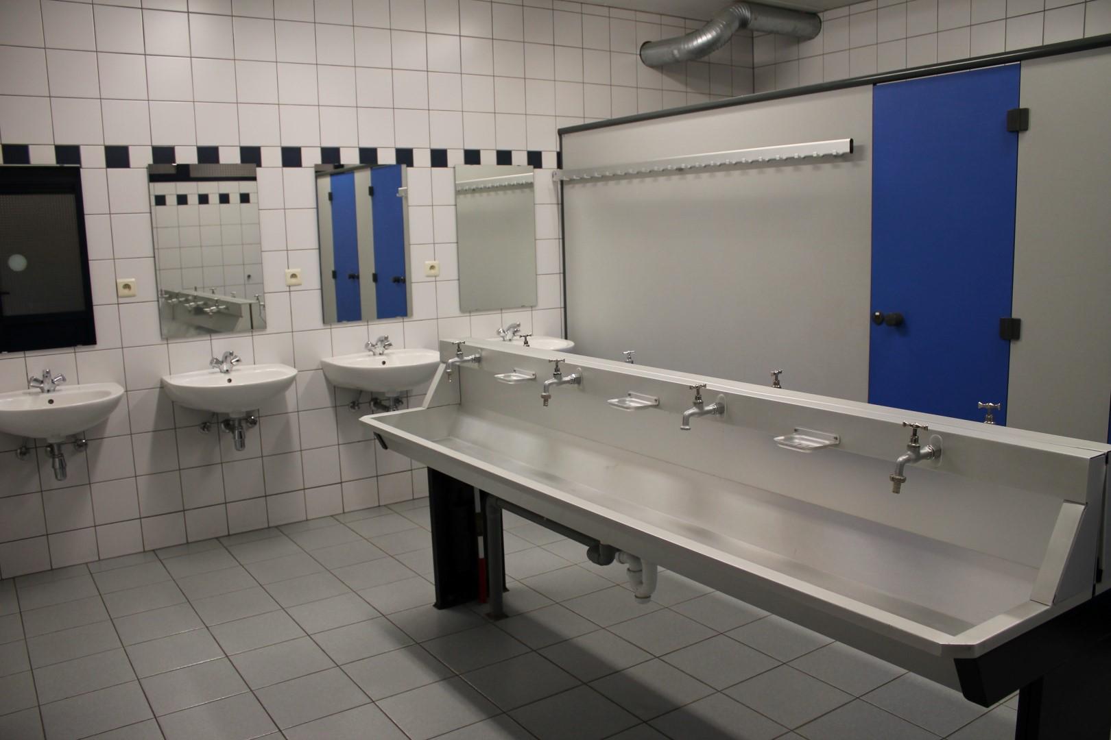 Toiletten wasruimte douches kampidoe - Een wasruimte voorzien ...