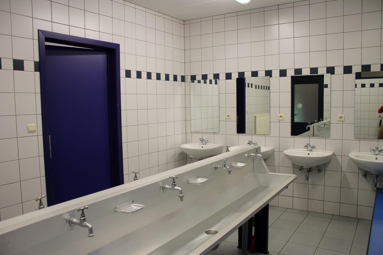 Toiletten wasruimte douches kampidoe